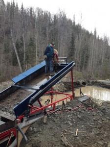 Wash Plant, Gold, Mining , Quartz Creek