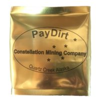 Gold Panning Paydirt